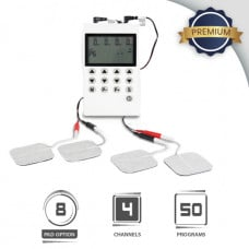 Professional TENS & EMS Machine (MH8001) Super Combo